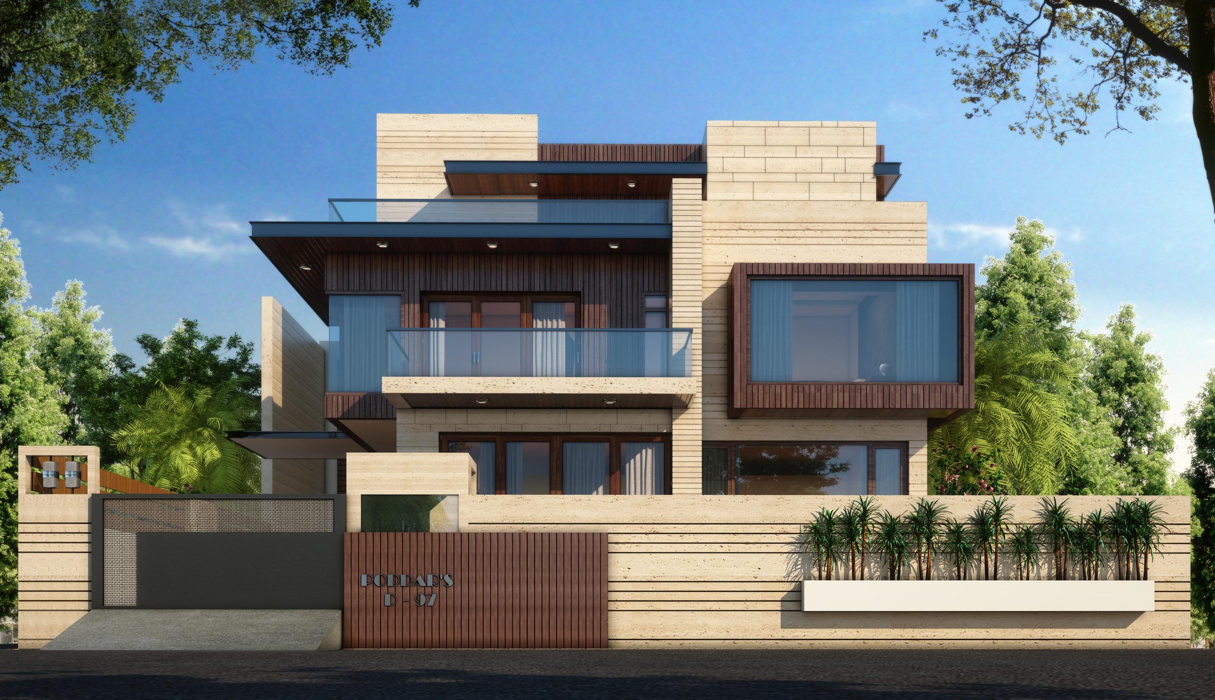 Desain Rumah Mewah 3 Lantai