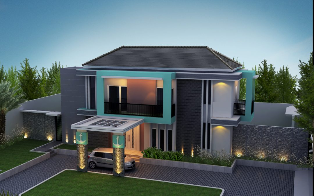 Desain Rumah Hijau di Cibinong Bogor