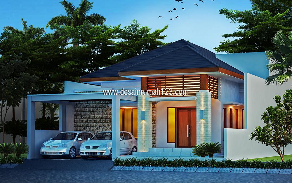 Desain Rumah 1 Lantai di Bekasi