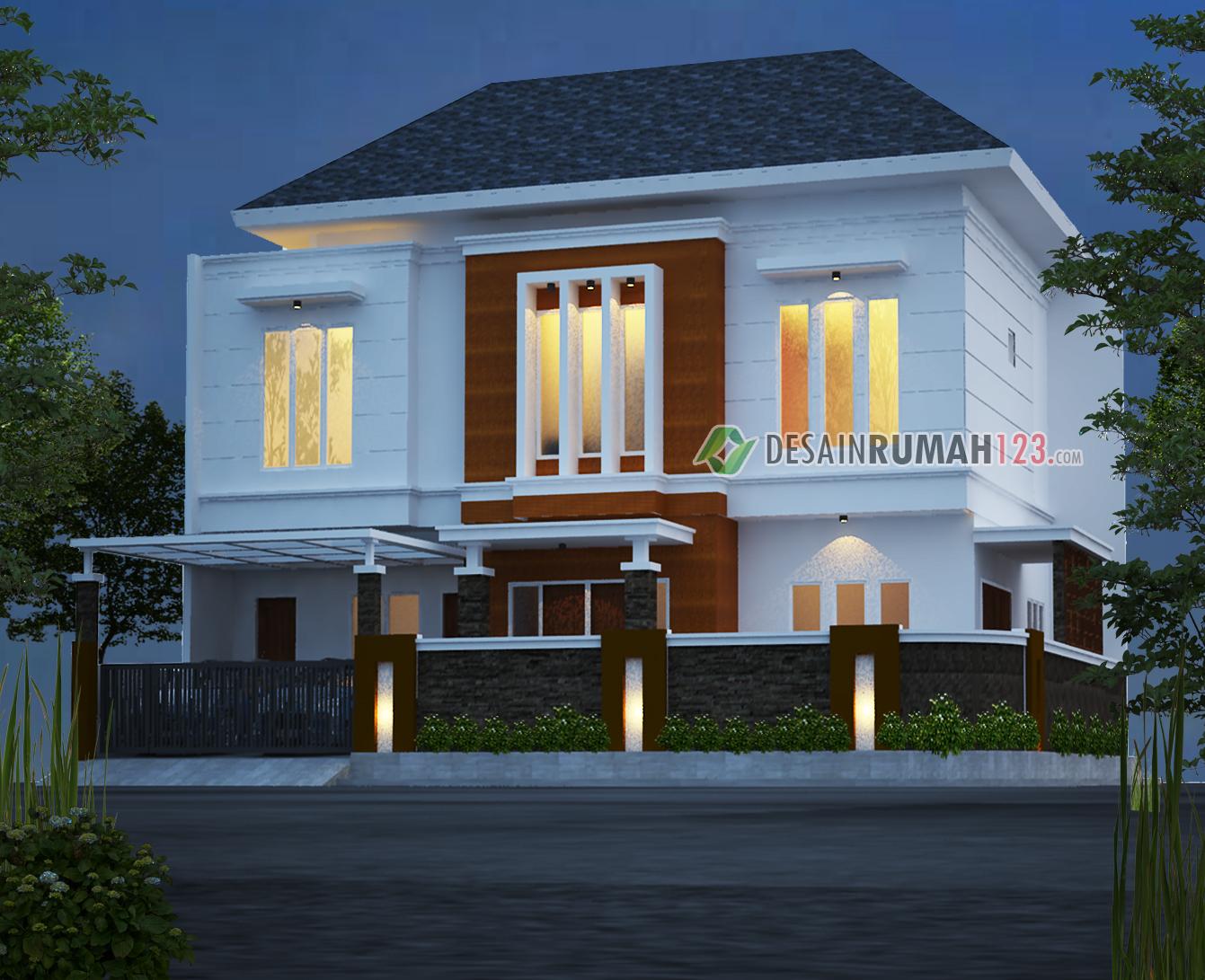 Desain Rumah Hook 12 x 15 M2