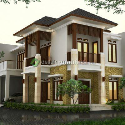 Desain Rumah Hook 10 x 15 M2 2 Lantai | DR – 1007