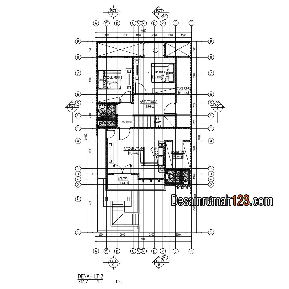 Image Result For Renovasi Rumah Kpr Type