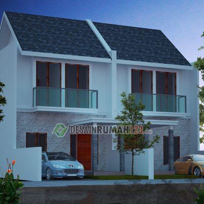 Desain Rumah 2 Lantai di Lahan 6 x 15 M2 | DR – 602