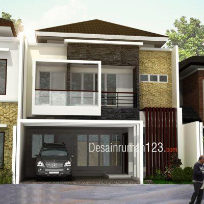 Desain Rumah 2 Lantai di Lahan 9 x 15 M2 | DR – 901