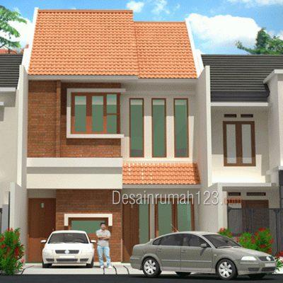 Desain Rumah 2 Lantai di Lahan 6 x 18 M2 | DR – 601