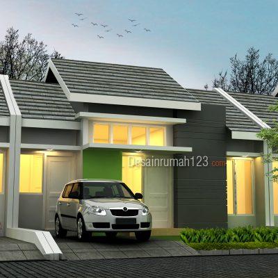 Desain Rumah 1 Lantai 8 x 13 M2 | DR – 809