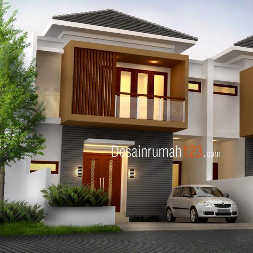 Desain Rumah 2 Lantai di Lahan 8 x 18 M2 | DR – RM – 801