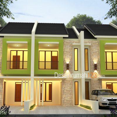 Desain Rumah 2 Lantai di Lahan 5 x 20 M2 | DR – 503