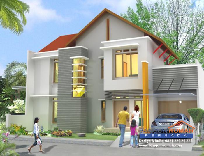 Bentuk Atap Rumah Moderen