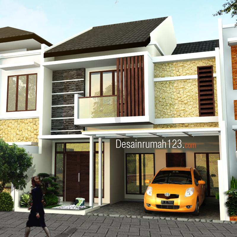 Desain Rumah 2 Lantai Di Lahan 8 X 15 M2 Dr 801 Desain Rumah Jakarta