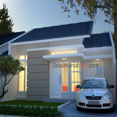Desain Rumah 1 Lantai di Lahan 8 x 15 M2 | DR – 8010