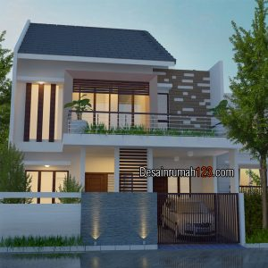 Desain Rumah 1 Lantai di Lahan 8 x 13 M2 | DR – 8011
