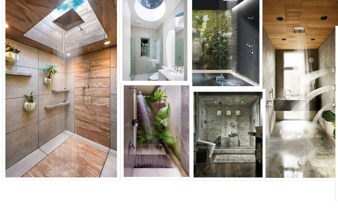 60 Desain Kamar Mandi Dengan Shower Dan Paparan Sinar Matahari
