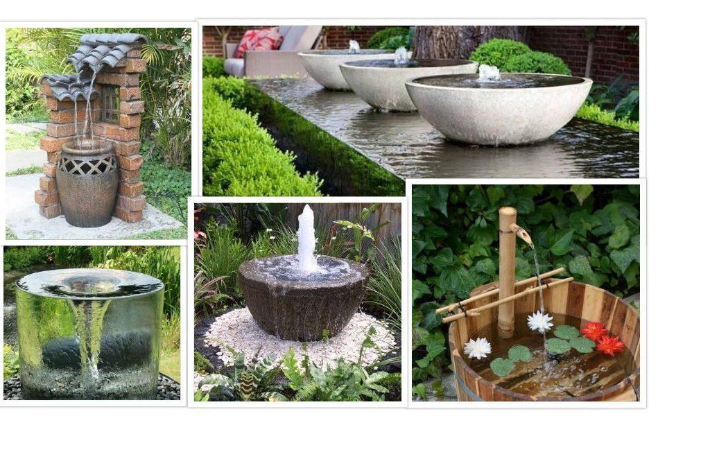 Model Air Mancur Untuk Taman Mungil Di Rumah