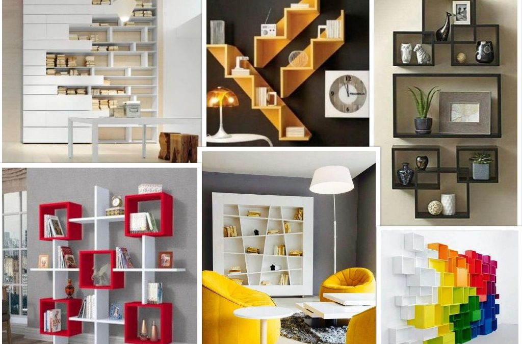 105 Desain Rak Dinding Dekoratif Dan Fungsional