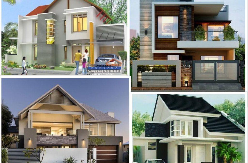 75 Desain Rumah 2 Lantai Minimalis Dan Moderen Desain Rumah Jakarta