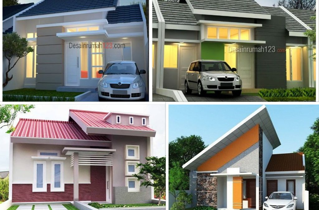 72 Desain Rumah Minimalis Sederhana 1 Lantai