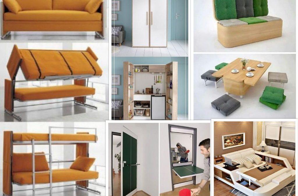 60 Furniture Pintar Untuk Rumah Sempit