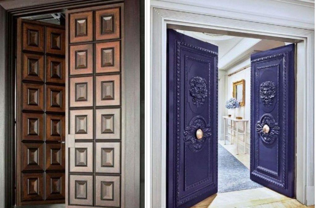 89 Desain Pintu Utama (Double Doors)