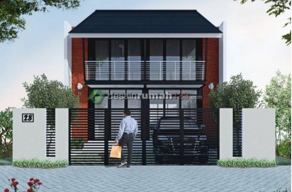 Desain Rumah Baja 2 Lantai
