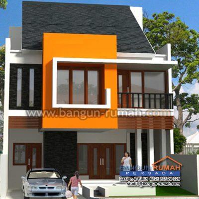 Desain Rumah 2 Lantai di Lahan 8 x 15 M2 | DR – 806