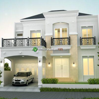 Desain Rumah 2 Lantai di Lahan 12 x 20 M2 | DR – 1207