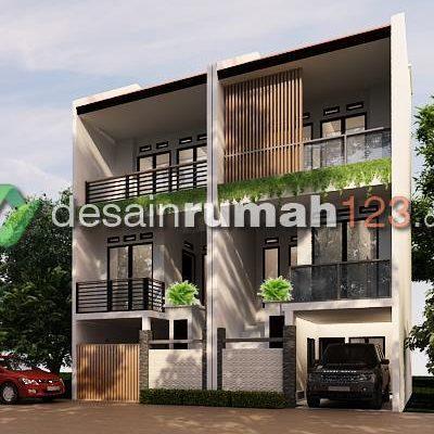 Desain Rumah 3 Lantai di Lahan 5 x 10 M2 | DR – 5103