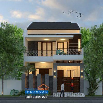 Desain Rumah 2 Lantai di Lahan 8 x 15 M2 | DR – 8021