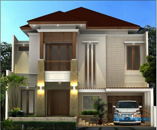 Desain Rumah 2 Lantai di Lahan 12 x 17 M2 | DR – 1217