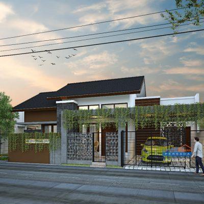 Desain Rumah 1 Lantai di Lahan 16,8 x 10 M2 | DR – 1680
