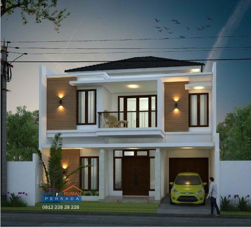 Desain Rumah 2 Lantai di Lahan 10 x 12 M2 | DR – 112