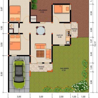 ide desain rumah 1 lantai dan 2 lantai bagi anda