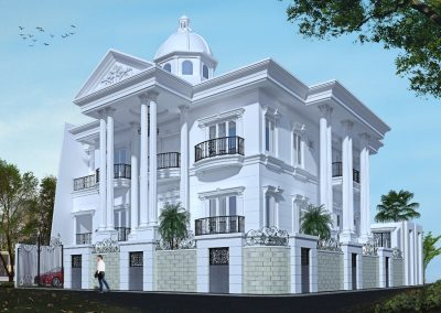 Desain Rumah Bapak Heri Fahmi di Pulo Asem Jakarta Timur