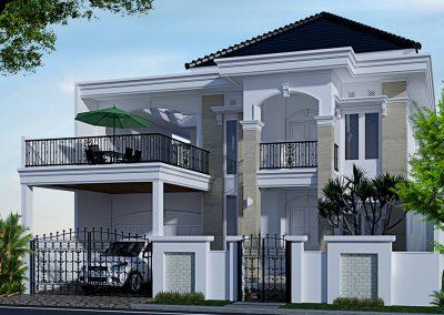 Desain Rumah Bapak Hermanto di Sentul Bogor