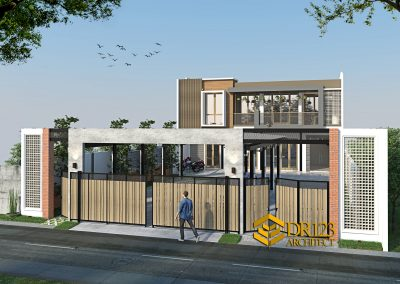 Desain Kantor Konstruksi Baja 2 Lantai Bapak Suharto di Duren Jaya Bekasi