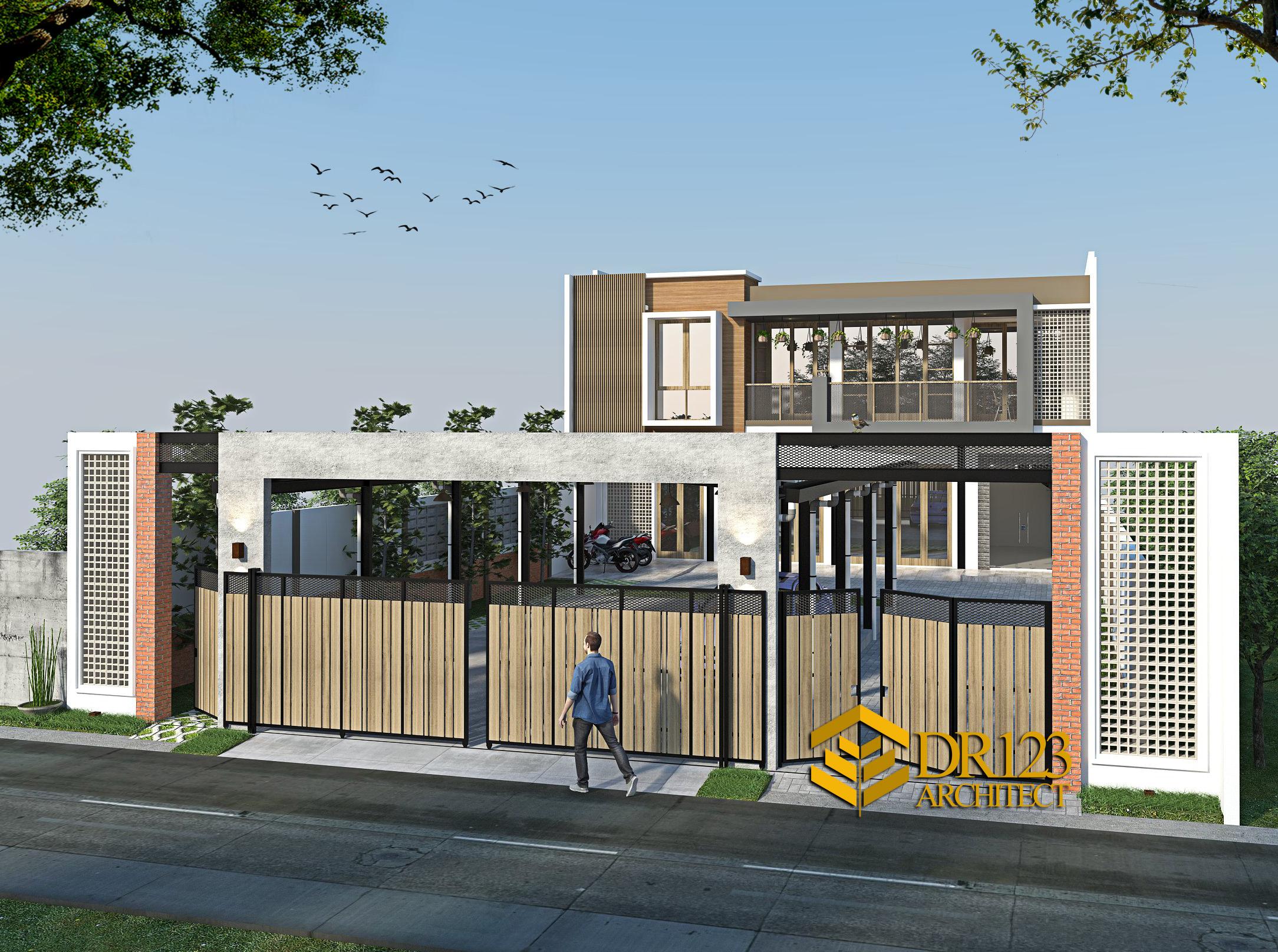 Desain Kantor Konstruksi Baja 2 Lantai Bapak Suharto Di Duren Jaya Bekasi Desain Rumah Jakarta