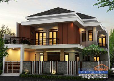 Desain Rumah Bapak Daniel Armanda di Kemang Pratama Bekasi