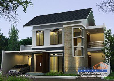 Desain Rumah Bapak Daniel Primantoro di Grand Galaxy Bekasi