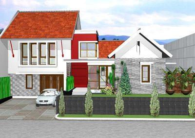 Desain Rumah Bapak Dandy di Cipete Jakarta Selatan