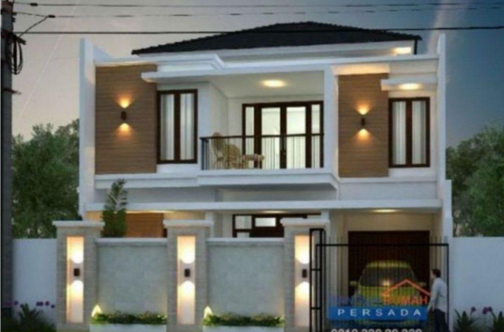 Desain Rumah Minimalis 2 Lantai Di Lahan 10×12 M2