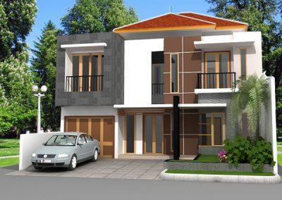 Desain Rumah Bapak Imam di Rawasari Jakarta Timur