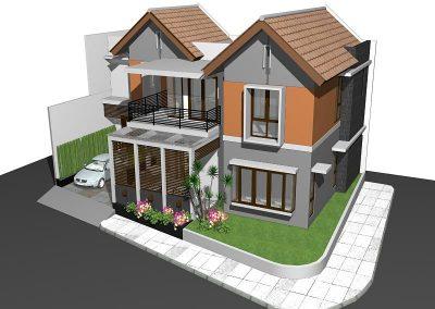 Desain Rumah Ibu Josephine Cipete Jakarta Selatan