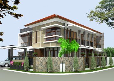 Desain Rumah Bapak Posma di Tangerang