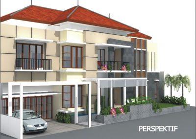 Desain Rumah Bapak Suharjito di Jati Mulya Pondok Gede