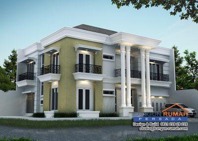 Desain Rumah Klasik 15 x 20 M2 Desain Rumah di Jakarta Timur