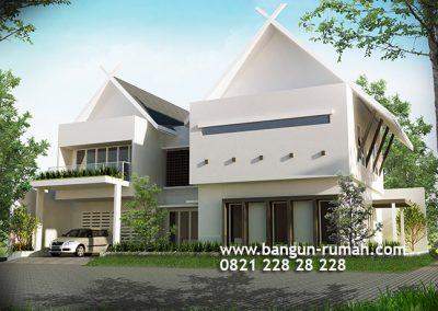Desain Rumah 2 Lantai di Benhil Jakarta