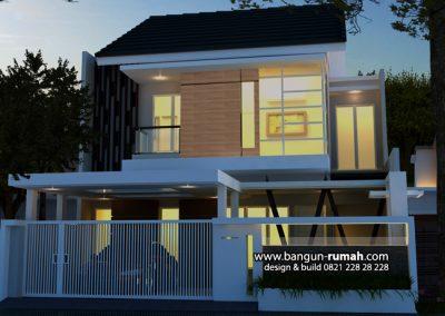 Desain Rumah Bapak Roni di Pisangan Jakarta