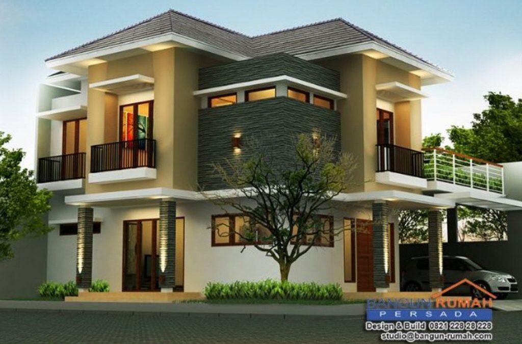 Desain Rumah Hook 2 Lantai Di Lahan 14 x 15 M2