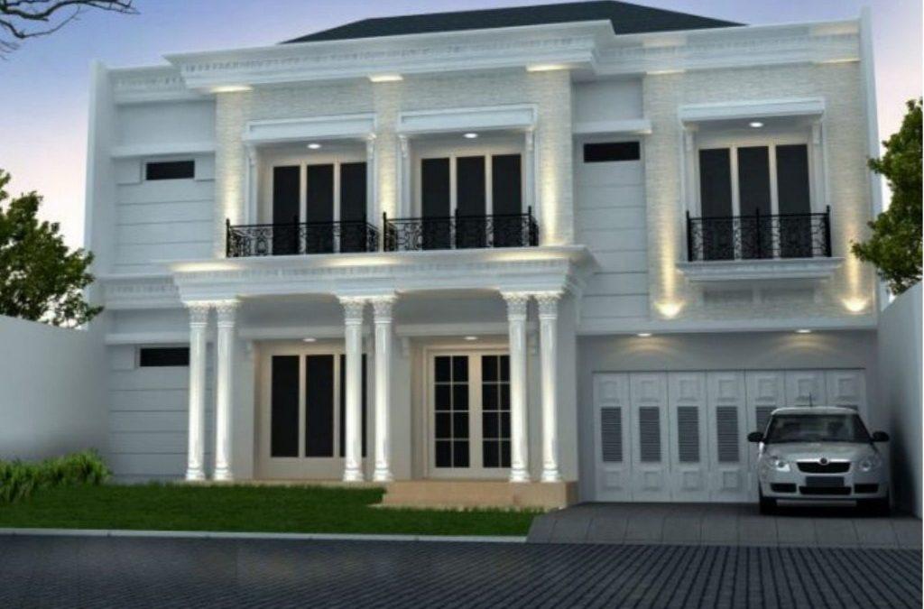 Desain Rumah Klasik 2 Lantai Di Lahan 15 X 20 m2