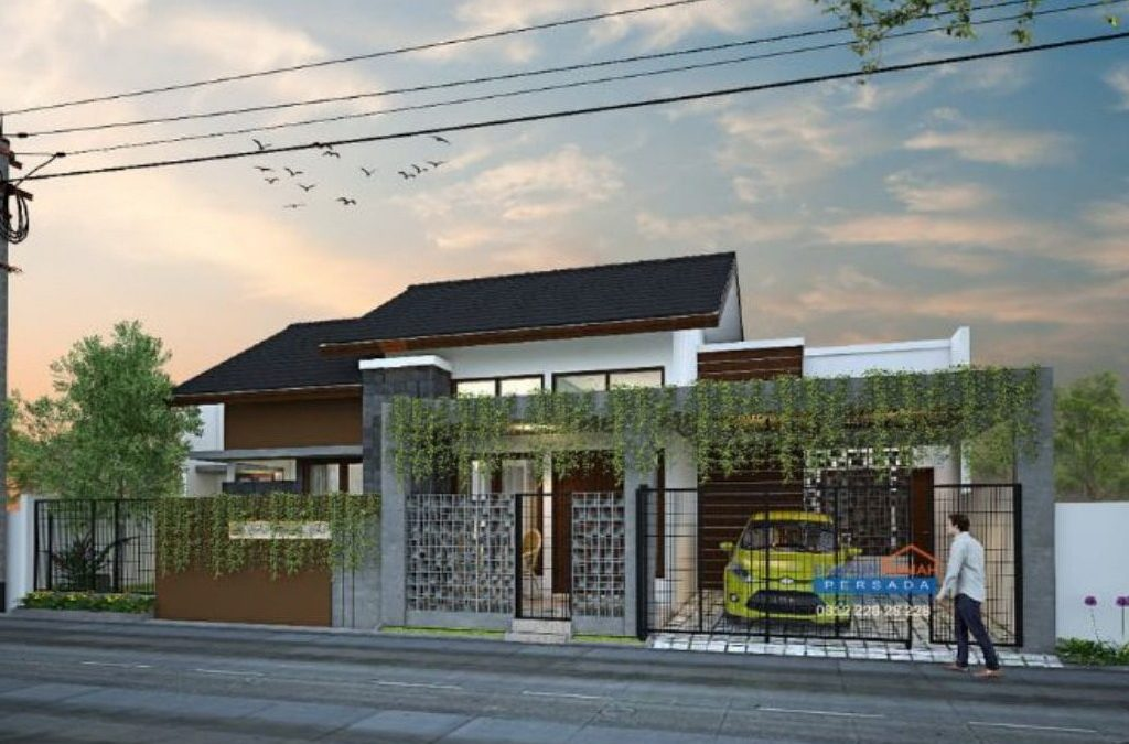 Desain Rumah Minimalis 1 Lantai Di Lahan 16, 8 x 10 M2